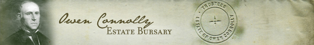 Owen Connolly Estate Bursary